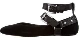 Rebecca Minkoff Round-Toe Ankle Strap Flats