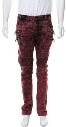 Balmain Skinny Biker Pants