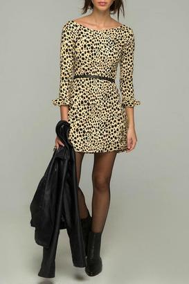 Motel Rocks Cheetah Skater Dress $75 thestylecure.com