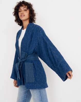 Madewell Whit Denim Kimono Jacket