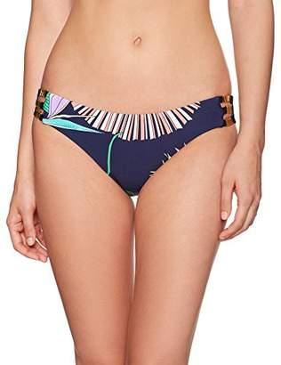 Trina Turk Women's Hipster Bikini Swimsuit Bottom, Navy Midnight Paradise