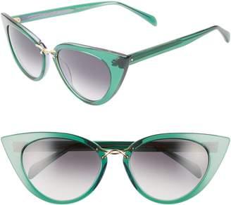 Morgenthal Frederics ODLR X Twisti 58mm Cat Eye Sunglasses