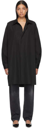 Maison Margiela Black Shirt Dress