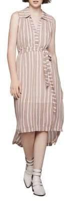 BCBGeneration Nation Striped Shirt Dress