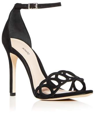 Schutz Women's Sthefany Ankle Strap High-Heel Sandals