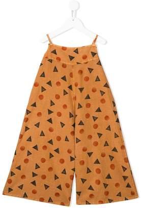 Bobo Choses shape print jumpsuit