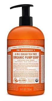 Dr. Bronner's Shikakai Hand And Body Soap 710Ml - Tea Tree