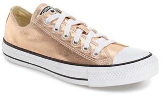 Converse Chuck Taylor ® All Star ® 'Um - Ox' Metallic Sneaker (Women) $59.95 thestylecure.com
