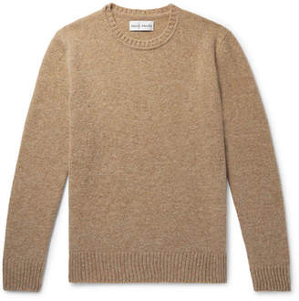 Privee SALLE Aren Mélange Shetland Wool Sweater