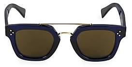 Celine Men's 47MM Plastic Square Sunglasses