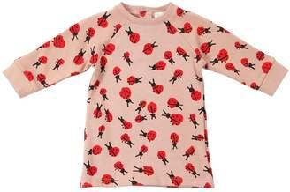 Stella McCartney Ladybugs Printed Cotton Sweatshirt Dress