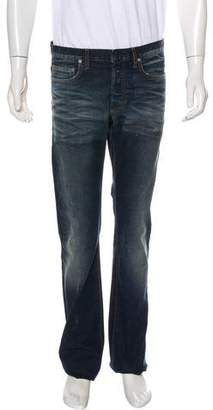 Christian Dior Distressed Slim Jeans