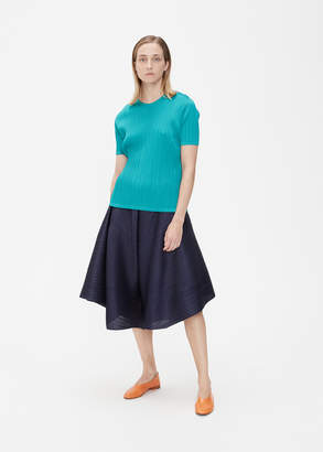 Pleats Please Issey Miyake Short Sleeve Monthly Colors Top