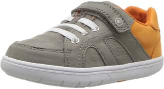 Stride Rite Boy's SRT NOE Loafer Flats, Grey/Orange