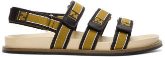Fendi Brown Forever Sandals