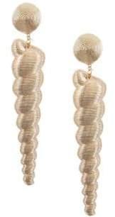 Rebecca de Ravenel Large Twisty Drop Earrings