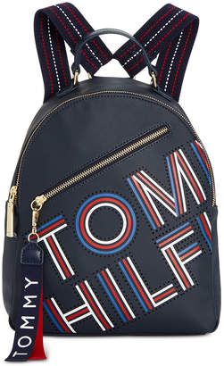 Tommy Hilfiger Adari Coated Twill Logo Backpack, Created for Macy's