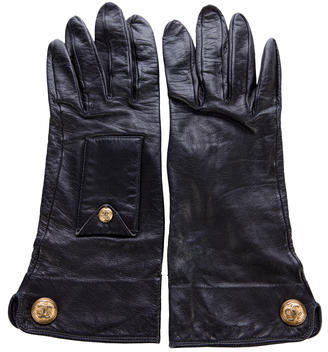 Chanel Chanel Leather CC Gloves