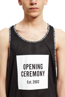 Opening Ceremony OC Box Logo Mesh Tank