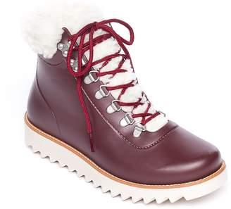 Bernardo Lace-Up Rubber Rain Boots - Wiley