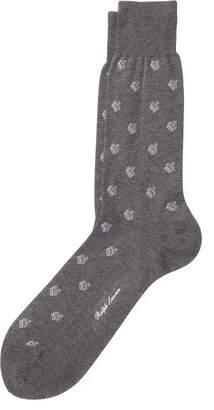 Ralph Lauren Crown Cotton Trouser Socks