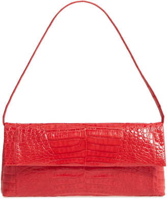 Nancy Gonzalez Gotham Genuine Crocodile Clutch