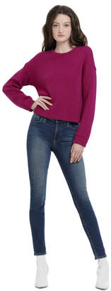Alice + Olivia Leena Cropped Sweatshirt