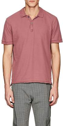 ATM Anthony Thomas Melillo Men's Faded Cotton Polo Shirt