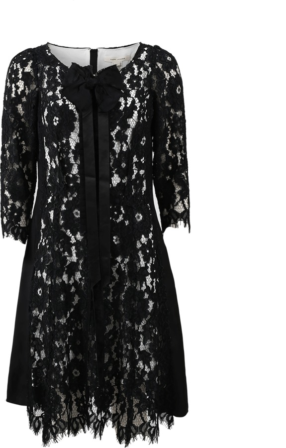 Marc Jacobs MARC JACOBS Long-Sleeve Lace Dress