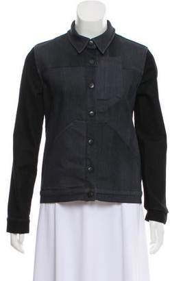 Surface to Air Pointed Collar Casual Jacket
