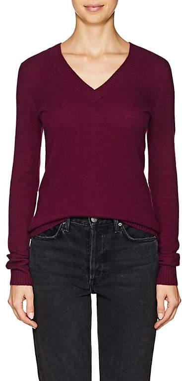 Barneys New York BARNEYS NEW YORK WOMEN'S CASHMERE V-NECK SWEATER