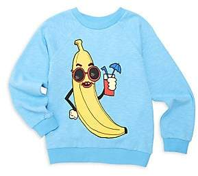 Mini Rodini Little Boy's & Boy's Organic Cotton Banana Sweatshirt