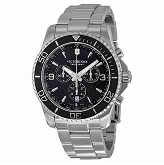 Victorinox Men's 'Maverick Chrono' Swiss Quartz Stainless Steel Casual Watch