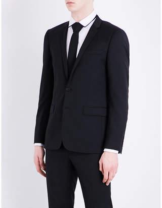 Sandro Regular-fit notch-lapel pure-wool jacket