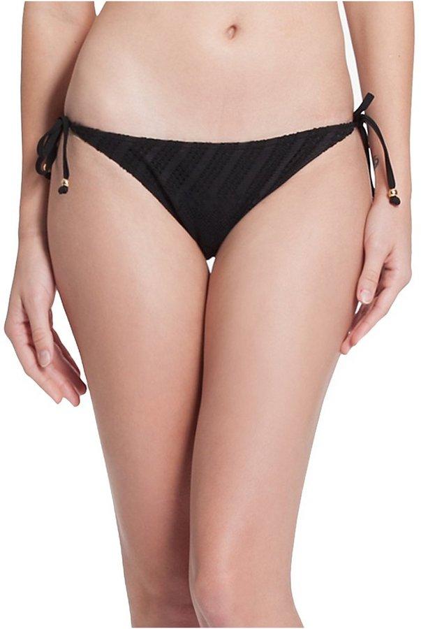 GUESS Knotty 'N' Nice Side-Tie Bikini Bottoms