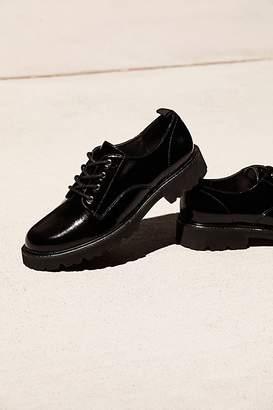 Jane & The Shoe Daze Lace Up Menswear Oxford