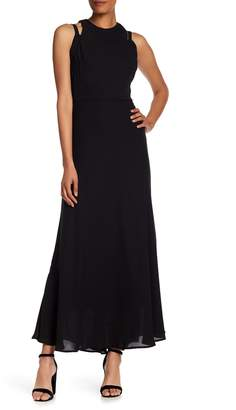 Taylor Cutout Detail Formal Maxi Dress