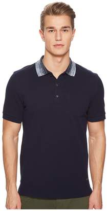 Missoni Pique Polo with Contrast Collar