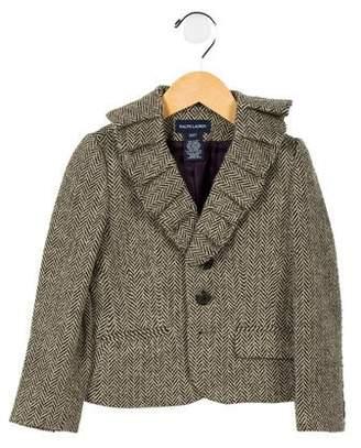 Ralph Lauren Girls' Wool Blazer