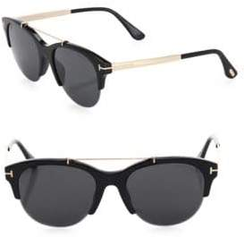 Tom Ford Adrenne 55MM Round Sunglasses