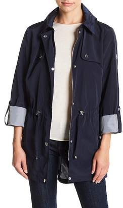 Tommy Hilfiger Hooded Drawstring Jacket