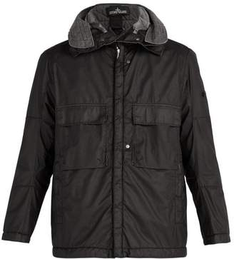 Stone Island Shadow Project - Zip Up Matte Jacket - Mens - Black
