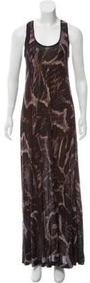 Lanvin Printed Maxi Dress