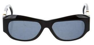 Gianni Versace Greek Key Tinted Sunglasses