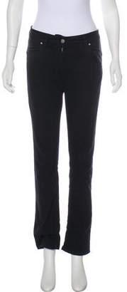 Isabel Marant Mid-Rise Straight-Leg Jeans