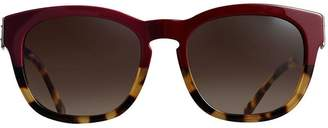 Burberry Buckle Detail Square Frame Sunglasses