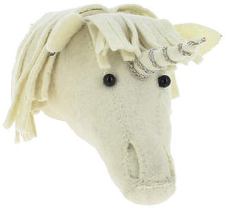 Fiona Walker Designs Kids' Mini Unicorn Head Wall Décor