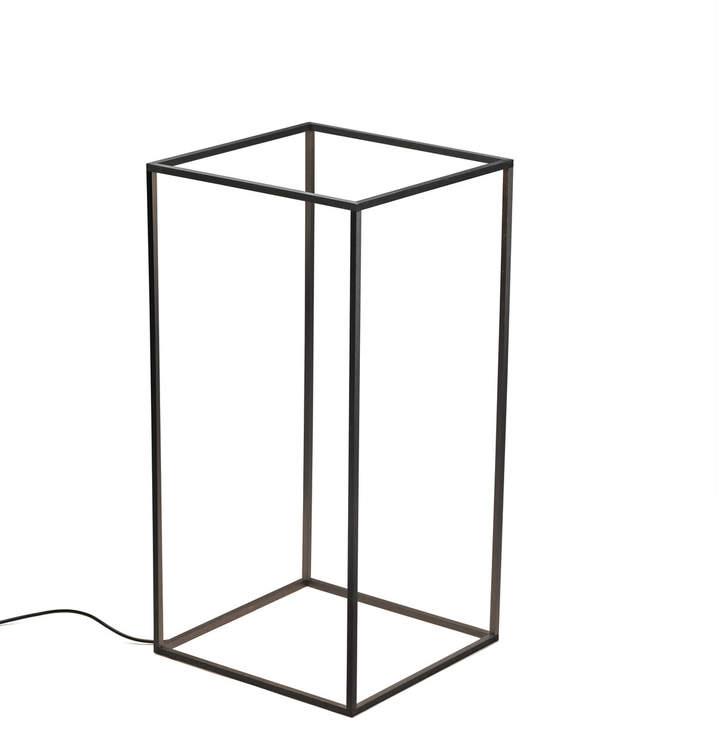 Flos - Ipnos Indoor Bodenleuchte, Schwarz anodisiert