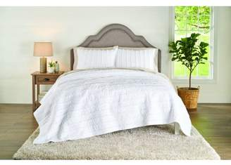 Better Homes & Gardens Solid Ruffle Stripe Quilt