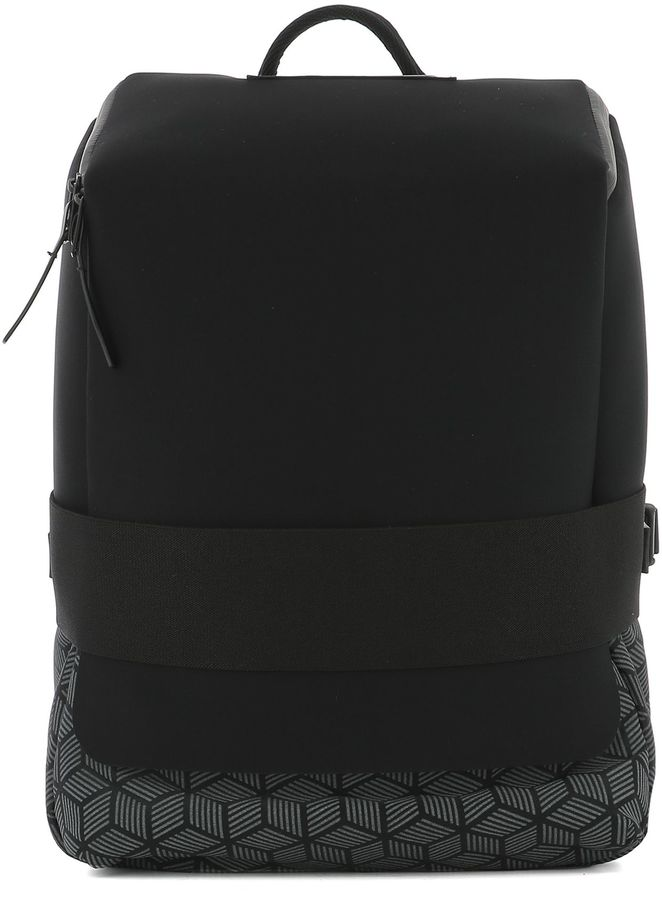Y-3 Black Fabric Backpack